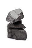 Pila de carbón Imagen de archivo libre de regalías