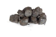 Pila de carbones Foto de archivo libre de regalías