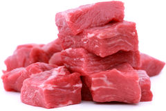Pila de carne de vaca fresca Foto de archivo