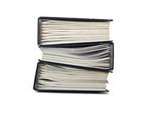 Pila de carpeta del fichero con los documentos Imágenes de archivo libres de regalías