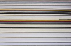 Pila de Cartboard Imagen de archivo libre de regalías
