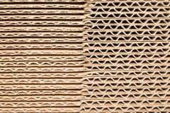 Pila de cartulina en una pila grande, diversas líneas Imagen de archivo libre de regalías