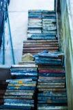 Pila de cerámica coloreada Fotografía de archivo