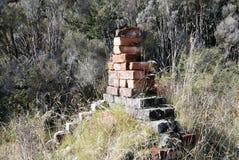 Pila de chimenea Fotografía de archivo