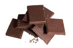 Pila de chocolate foto de archivo libre de regalías