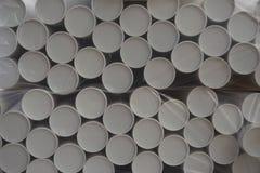 Pila de cilindro de papel imagen de archivo libre de regalías
