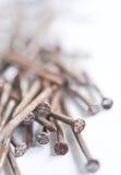 Pila de clavos Imagen de archivo libre de regalías