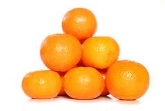 Pila de clementinas Imágenes de archivo libres de regalías