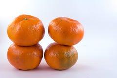 Pila de clementinas Imagen de archivo