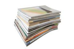 Pila de compartimientos Fotografía de archivo