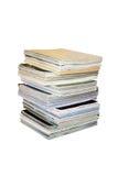 Pila de compartimientos Imágenes de archivo libres de regalías