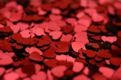Pila de corazones Fotos de archivo