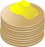 Pila de crepes Imagen de archivo libre de regalías
