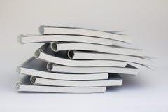 Pila de cuaderno Imágenes de archivo libres de regalías