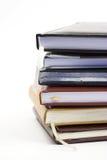 Pila de cuadernos Foto de archivo