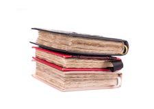 Pila de cuadernos hechos a mano Fotografía de archivo libre de regalías