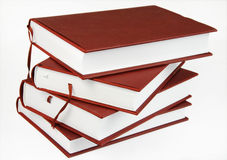 Pila de cuatro libros Imagen de archivo
