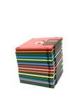 Pila de del disco blando Fotos de archivo libres de regalías