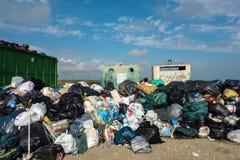 Pila de desperdicios Fotos de archivo libres de regalías