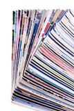 Pila de diarios fotos de archivo libres de regalías