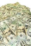 Pila de dinero imagen de archivo