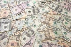 Pila de dinero Fotos de archivo