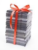 Pila de disco óptico fotografía de archivo libre de regalías