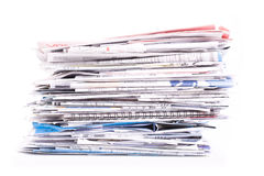 Pila de documentos Imagen de archivo libre de regalías