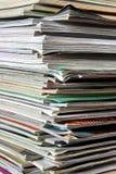 Pila de documentos Foto de archivo libre de regalías