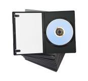 Pila de DVD imagen de archivo