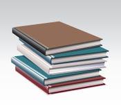 Pila de ejemplo de libros en EPS 10  stock de ilustración