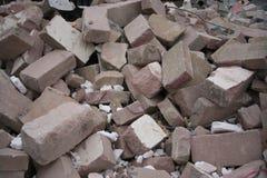 Pila de escombros Foto de archivo libre de regalías