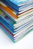 Pila de escritura-libros viejos Imágenes de archivo libres de regalías
