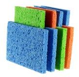 Pila de esponjas Imagen de archivo