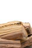 Pila de firewoods Fotos de archivo