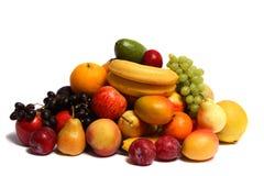 Pila de fruta Imágenes de archivo libres de regalías