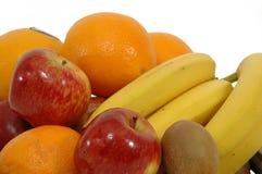 Pila de frutas Fotografía de archivo libre de regalías