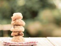 Pila de galleta Fotografía de archivo libre de regalías