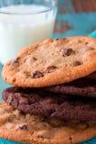 Pila de galletas Imagenes de archivo