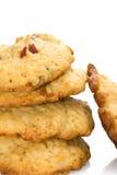 Pila de galletas Fotos de archivo