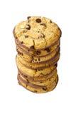 Pila de galletas Foto de archivo libre de regalías