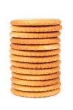 Pila de galletas Imágenes de archivo libres de regalías