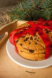 Pila de galletas de la Navidad fotos de archivo libres de regalías