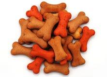 Pila de galletas del hueso para el perro fotografía de archivo