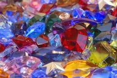 Pila de gemas Imagen de archivo libre de regalías