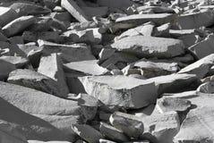 Pila de granito Fotos de archivo