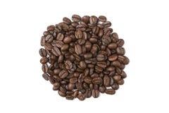 Pila de granos de café Fotografía de archivo libre de regalías