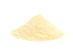 Pila de harina de maíz Fotografía de archivo