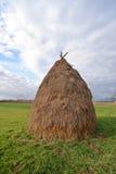 Pila de heno Foto de archivo libre de regalías