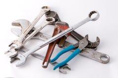 Pila de herramientas Fotos de archivo libres de regalías